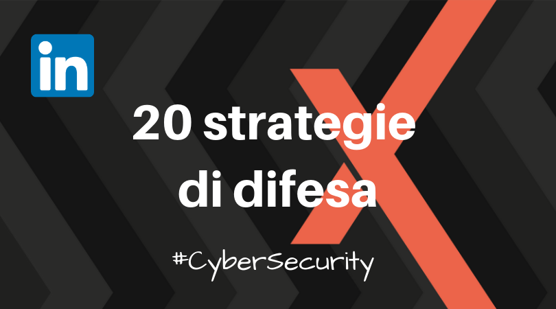 20 strategie di difesa